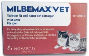 Milbemax Vet För Små Katter Och Kattungar
